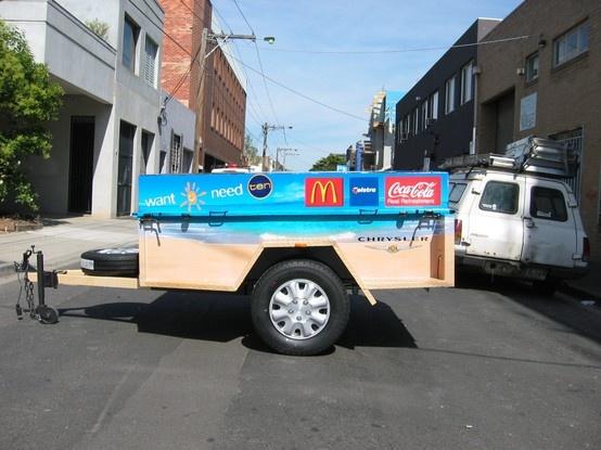 Mini Trailer Vehicle Wrap, Channel 10