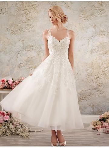 organza brud bröllopsklänningar