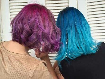 multicolored hair ideas