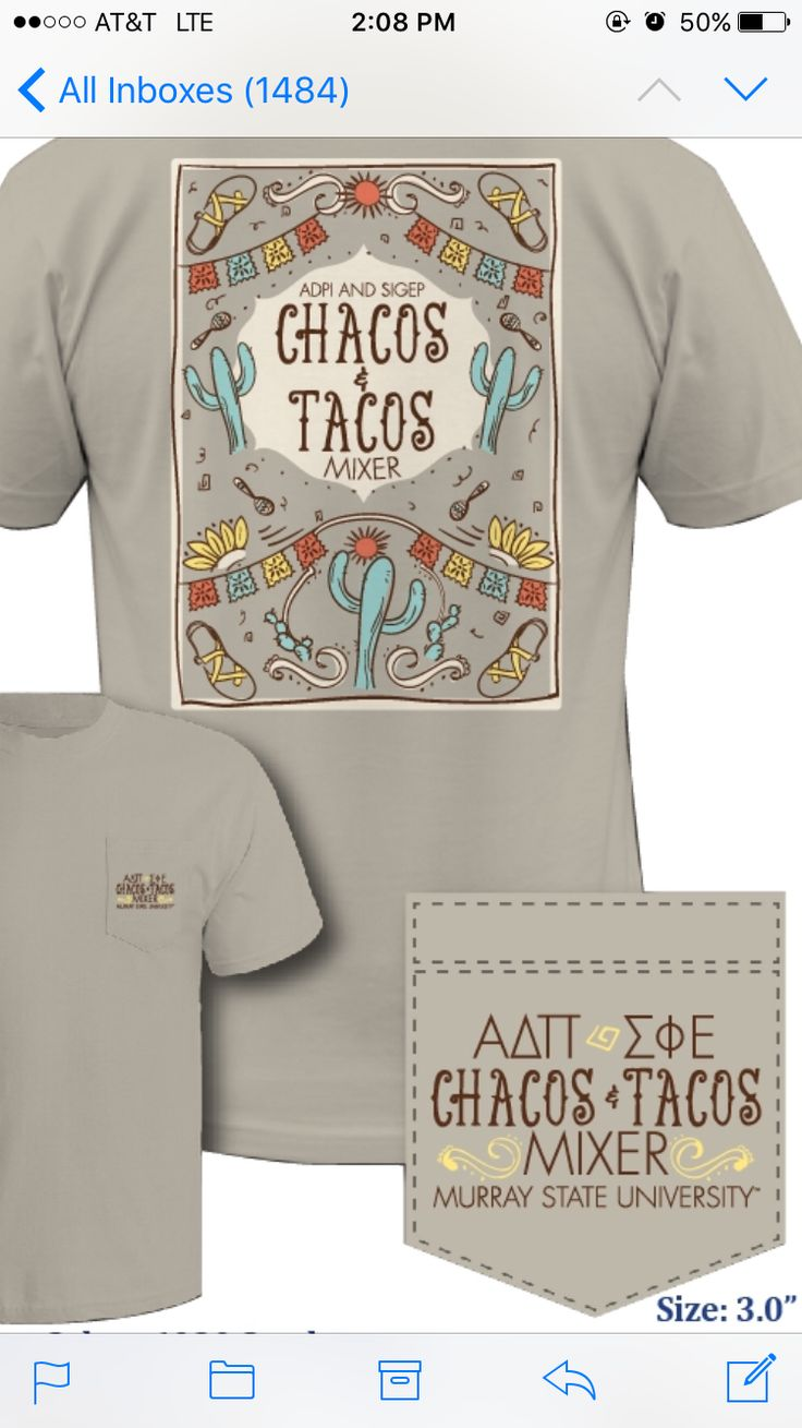 SigEp Chacos & Tacos Mixer 2016 (I did not design this)  Graphic Cow
