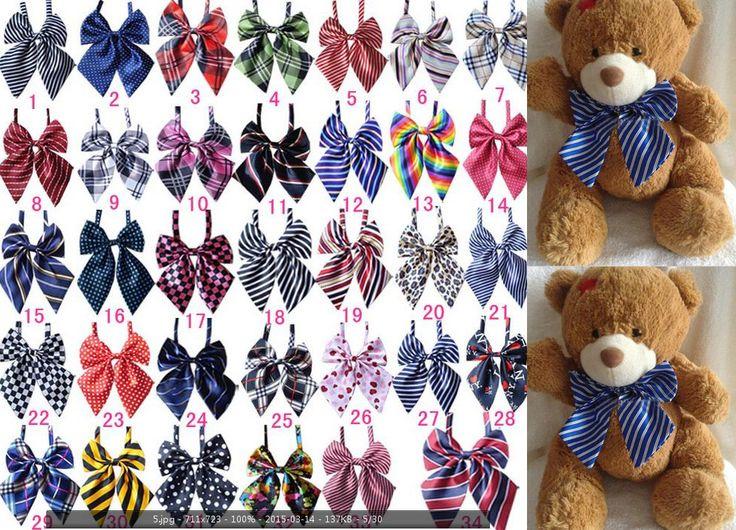 50 шт./лот Новая Собака галстуки pet аксессуары джентльмен собака галстуки-бабочки Шаблонов Mix 40 цветов галстук-бабочку Регулируемая собака кошка галстук галстуки