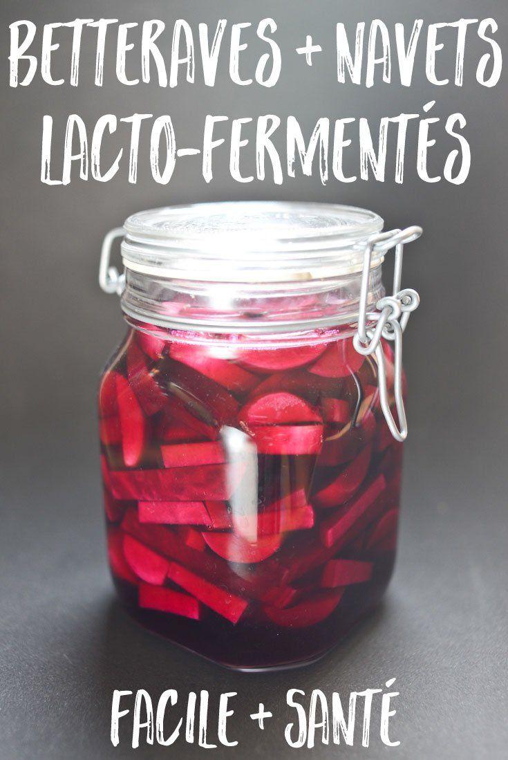 Une formule simple et précise pour faire des pickles lacto-fermentés avec des betteraves et des navets. Délicieux et pleins de bienfaits nutritionnels !