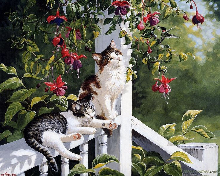 Persis Clayton Weirs: Passing the Time of Day on a Country Porch.