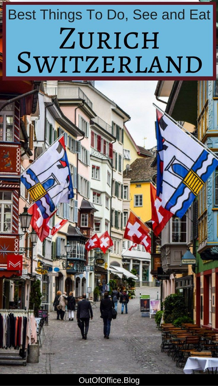 Shutters, flowers, cobblestone walkways, lake views, snow capped mountains... here are the best things to do in beautiful #Zurich #Switzerland #travel