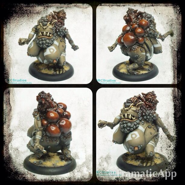 Orcnar Dmoder painted by O.R.C Studios