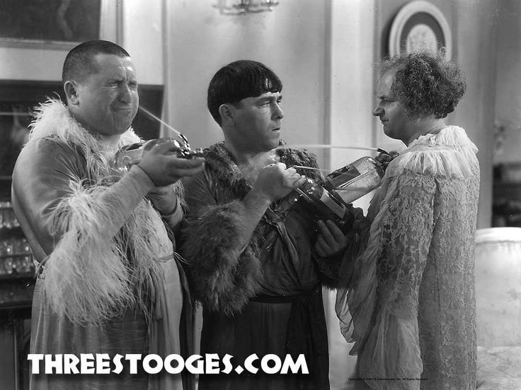Best friends don't let best friends seltzer themselves. Happy #NationalBestFriendsDay from The #ThreeStooges