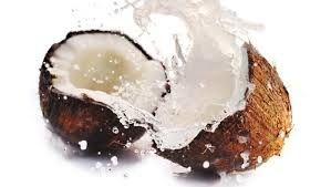 een lekker kokosnoot drankje