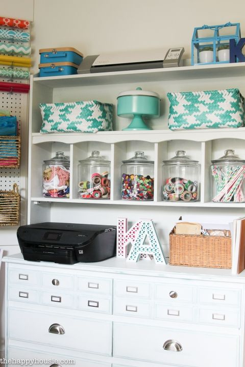 How To Organize A Craft Room Work E