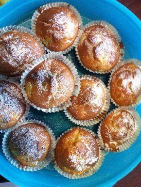 Photo de recette Muffins à la rhubarbe moelleux - Marmiton