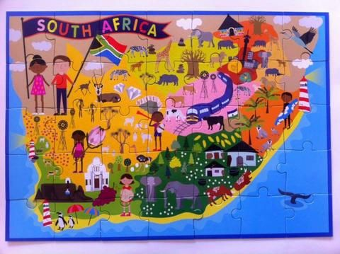 My Big South Africa puzzle