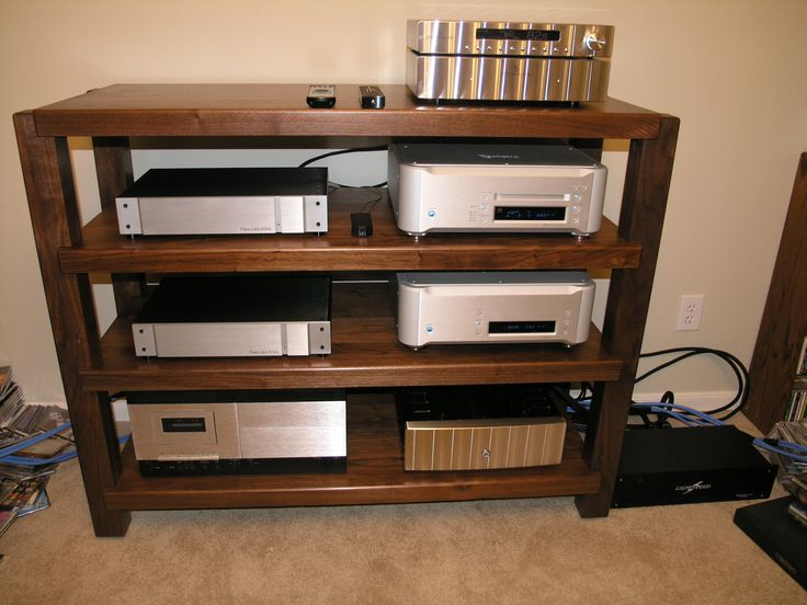 best 25 audio rack ideas on pinterest stereo system for home smart house and hifi stand. Black Bedroom Furniture Sets. Home Design Ideas