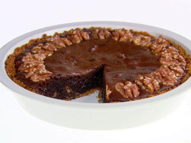 Get Giada De Laurentiis's Brownie-Walnut Pie Recipe from Food Network