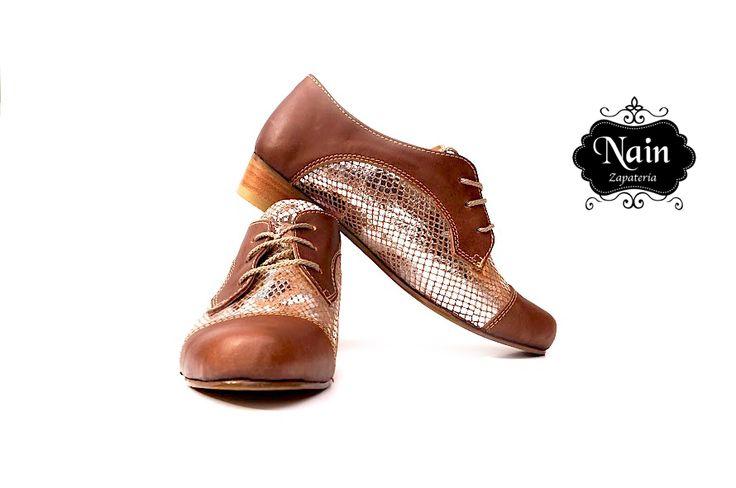Modelo zapato derbi
