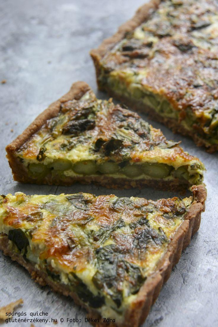 Spárgás quiche – medvehagymával Igazi húsvéti recept, ami tökéletesen illik a húsvéti sonkák, tojáskrémek, friss saláták mellé. Ne hagyjátok ki a menü tervezése során!