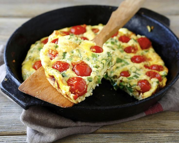 Frittata cu rosii: o omleta mai evoluata, absolut delicioasa!