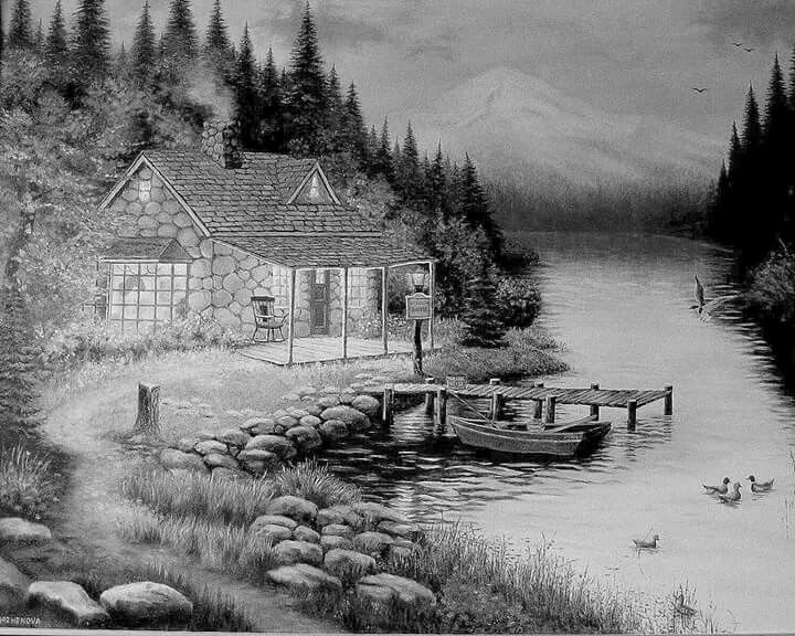 17 Best images about Coloring Greyscale Scenery on