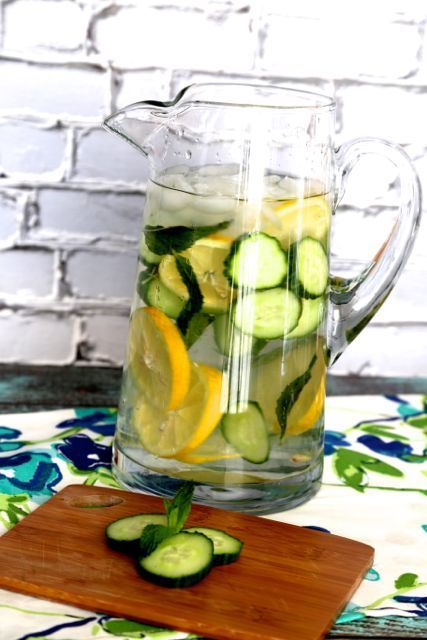 Learn How to Make Cucumber Water Detox. Drink this every morning to flush out those toxins and keep them from building up