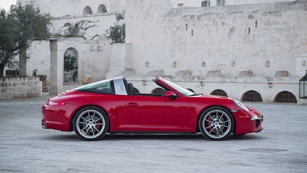 First drive: 2014 Porsche 911 Targa - BBC Top Gear