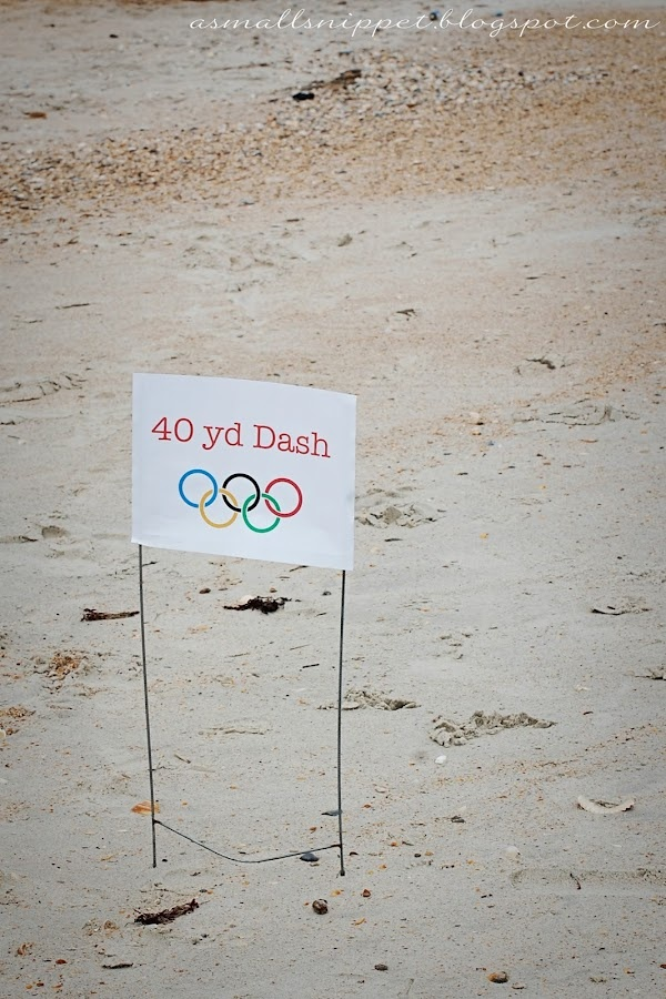 More Boys Olympic party theme ideas
