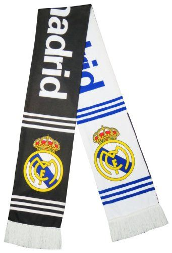 Official Licensed Real Madrid Soccer Super Fans Scarf - Multicolour $16.99