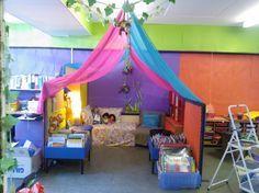 My classroom reading area