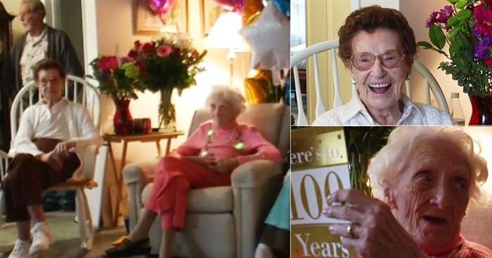 Κολλητές γιόρτασαν τα 100στα γενέθλια τους μετά από 50 χρόνια φιλίας  #Viral
