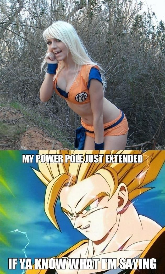 Naughty Goku! // funny pictures - funny photos - funny images - funny pics - funny quotes - #lol #humor #funnypictures