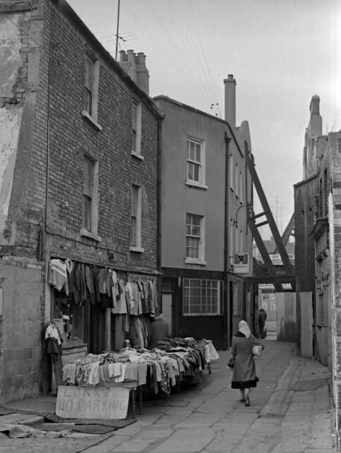 Angelsea Market, off Moore St, 1970s