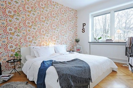 Swedish bedroom. #swedish