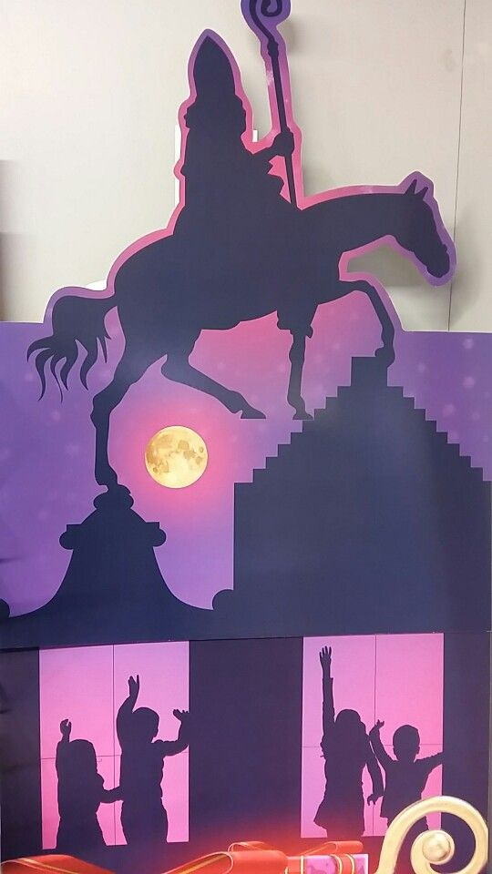 Sinterklaas etalage display