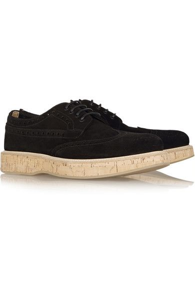 Church's - Keely Suede Brogues - Black - IT35.5