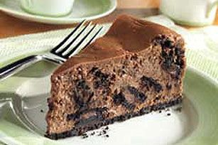 OREO Chocolate Cream Cheesecake recipe - Making this with a chocolate bird's nest & Easter eggs on top for Easter dinner