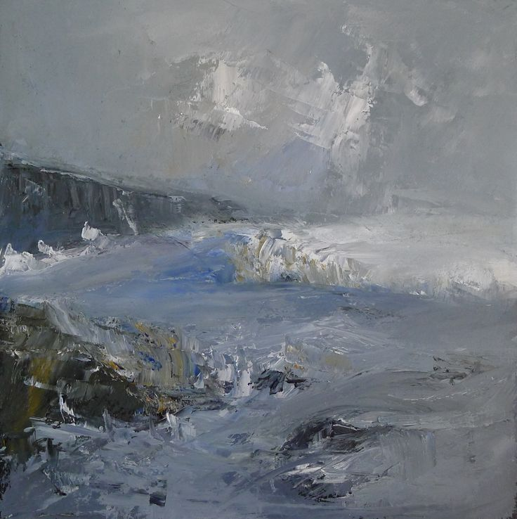 Galdron Bay - Kintyre 9 x 9 inch oil on board