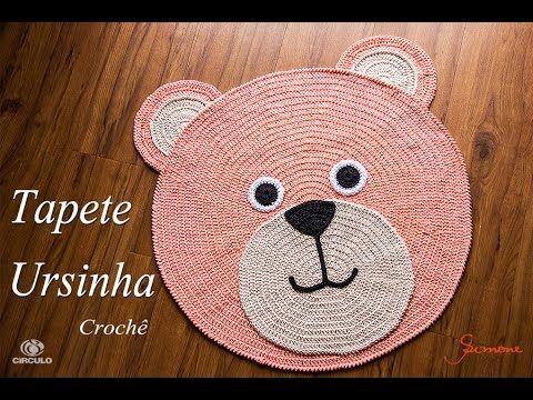 Vida com Arte | Tapete gato em crochê por Simone Eleotéreo - 12 de Janeiro de 2015 - YouTube