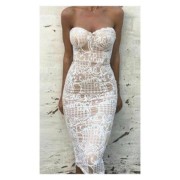 Best 25+ White lace bodycon dress ideas on Pinterest | Bodycon ...