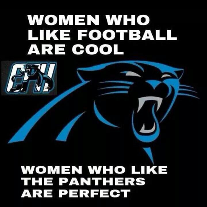 Panthers women love Panther Men, especially if they're saved by G.R.A.C.E.