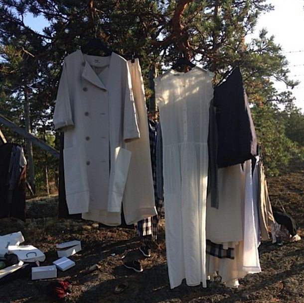 Behind the scenes at Samuji SS14 Classic Feeling Book shoot in Porvoo