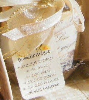 La finestra sul bosco Handmade: Anniversario di matrimonio: portaconfetti e bomboniere