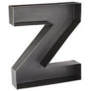 Z Magnificent Metal Letter