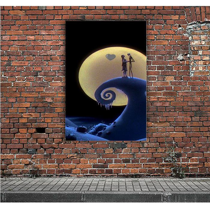 LOVE THE NIGHTMARE BEFORE CHRISTMAS 2 ARTWORK POSTERS