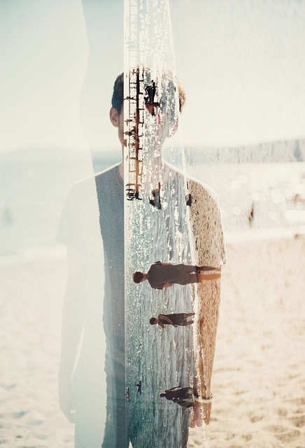 backwards: Picture, Photos, Inspiration, Multiple Exposure, Summer, Beach, Double Exposures, Photography, Doubleexposure