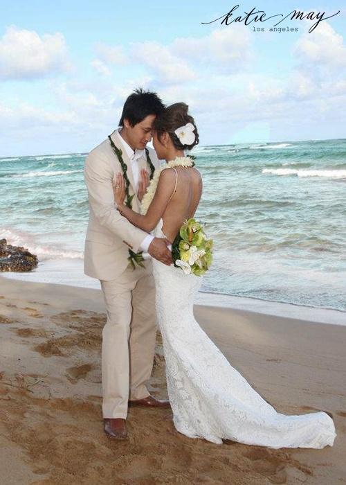 White Hawaiian Beach Wedding Wear Find Deals Line