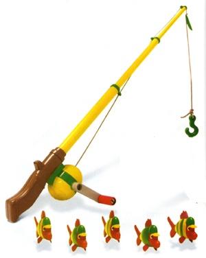 cute toy fishin pole...