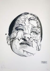 Image of Sandra Chevrier : La Cage et la piqûre d'une larme, 72 x 52 cm