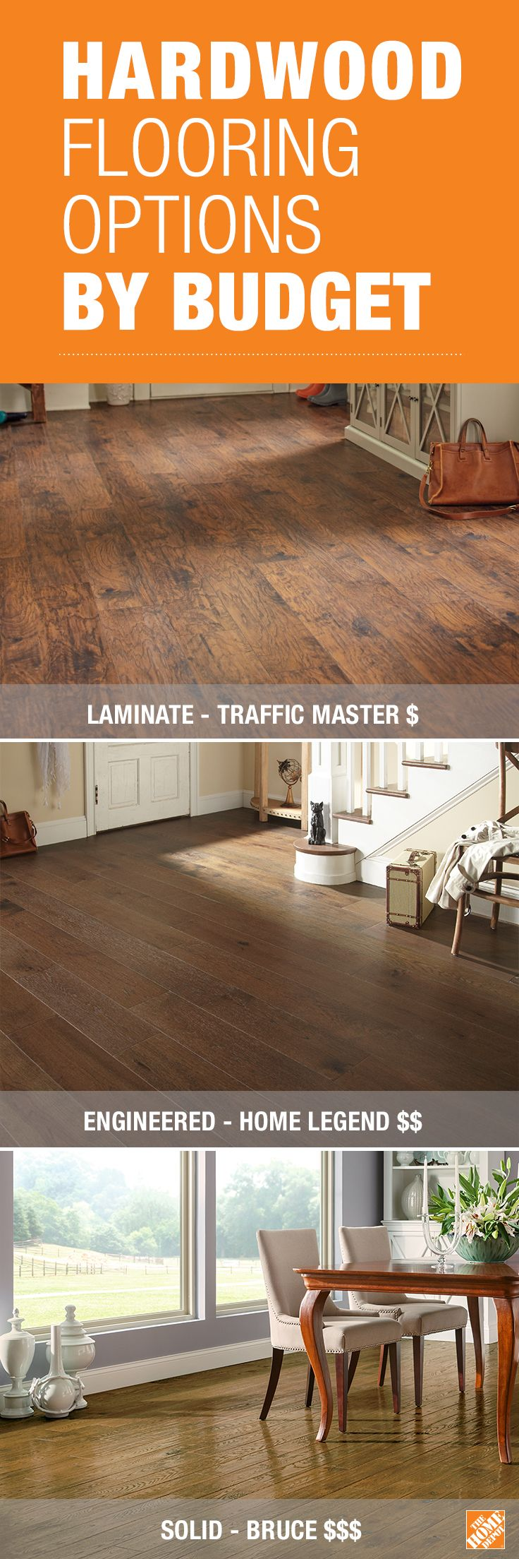 The New Types Of Laminate Flooring Give You An Authentic Wood Look That S Very Affordable Engineered Hardwood Costs A Little