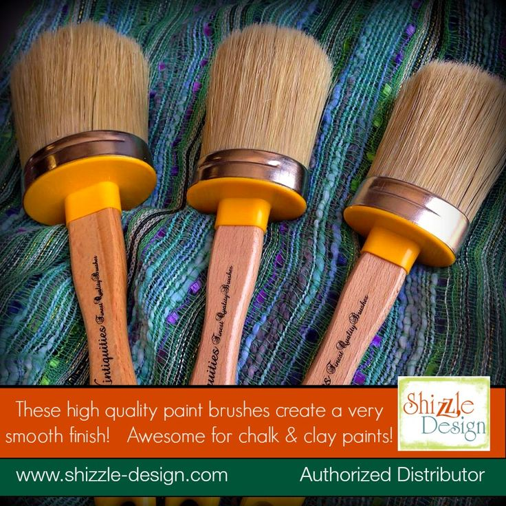 THE Finest Chalk U0026 Clay Paint U0026 Wax Brushes From Vintiquities Are Now  Available In The