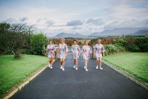 Bridesmaids at Dingle Skellig Hotel