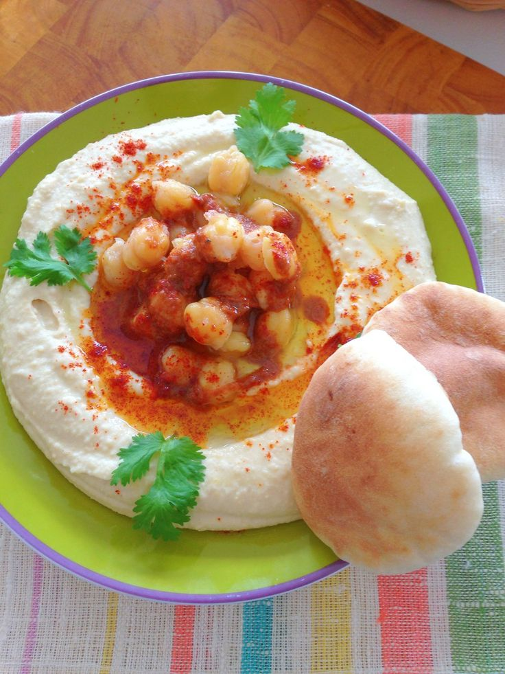 Моя Кухня - Хумус дома