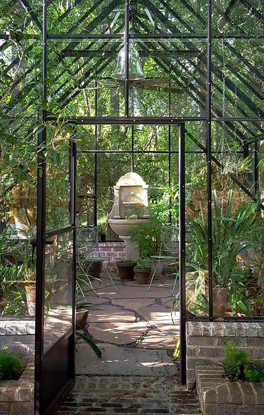 Nice Greenhouse Interior. The Cape Cod, Single Glass, Custom Black Color.  Http