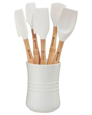 White and wood utensils are modern classics | BHG.com Shop
